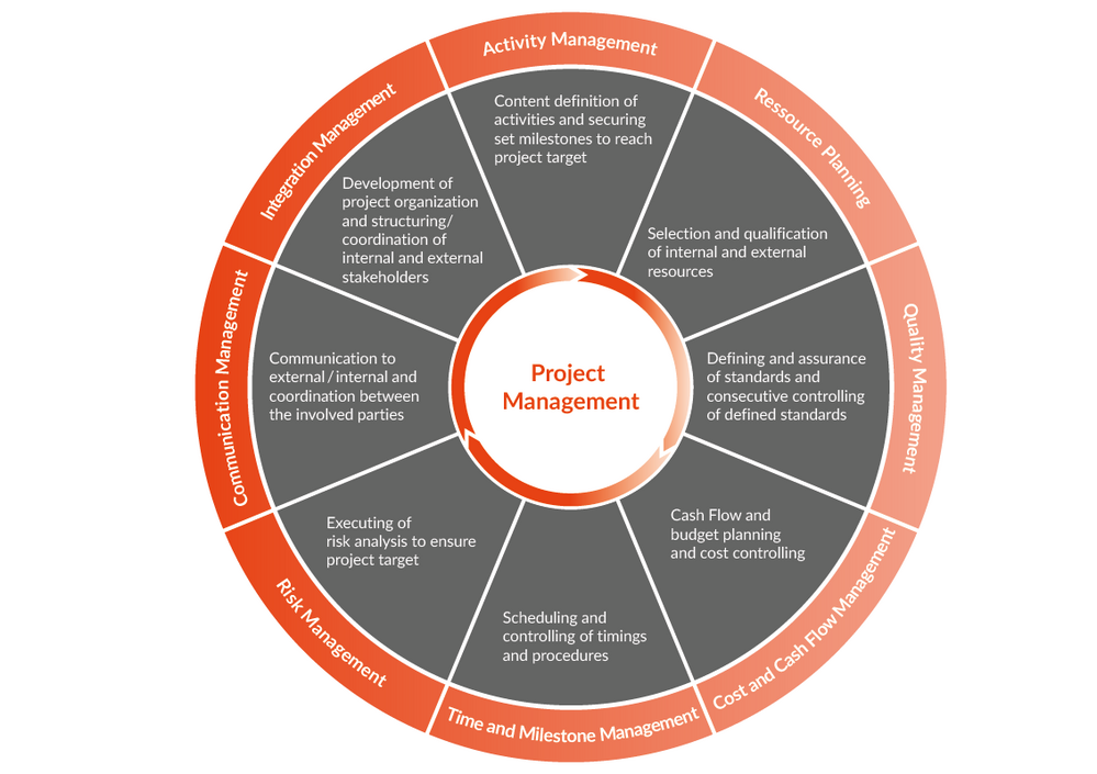 responsibilities and activities in project management